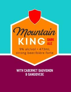 Mountain King with Cabernet Sauvignon and Sangiovese