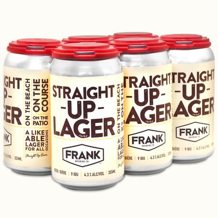 Straight Up Lager
