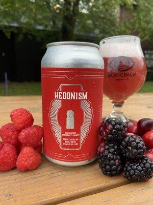 Hedonism - Blackberry, Raspberry, Cherry