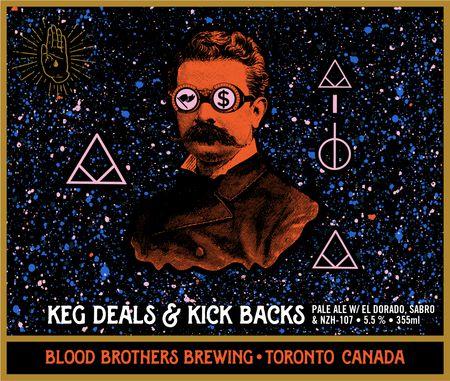 KEG DEALS & KICK BACKS - EL DORADO, SABRO & NZH-107