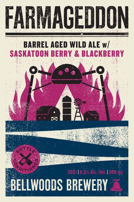 Farmageddon (Saskatoon Berry & Blackberry)